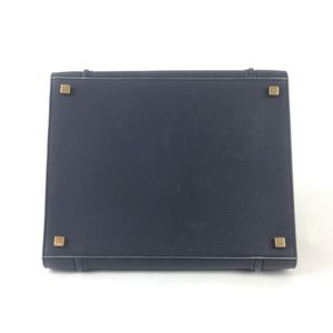 632ce962ef72 Celine Bags - Celine Calf Leather Navy Phantom Handbag